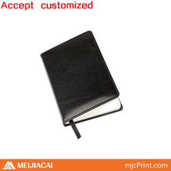2014 Top quality factory price custom leather mini notebook case