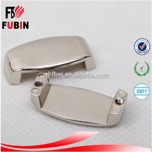 leisure luggage parts for suitcases metal bag buckle