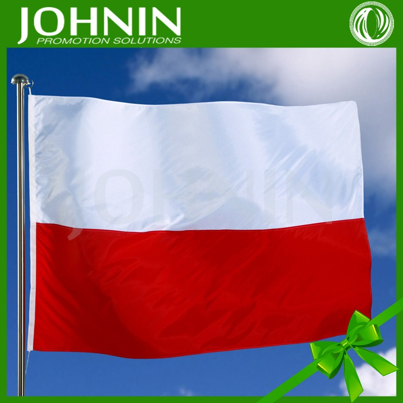 Hot selling 3x5 customize 2012 poland flag