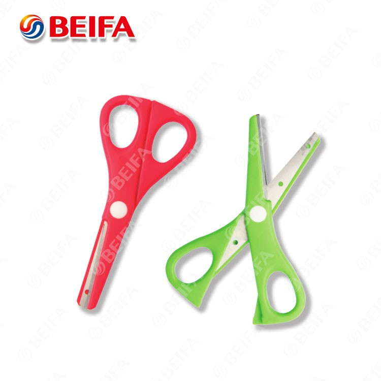 SC1335 China Manufacturer plastic kids scissors