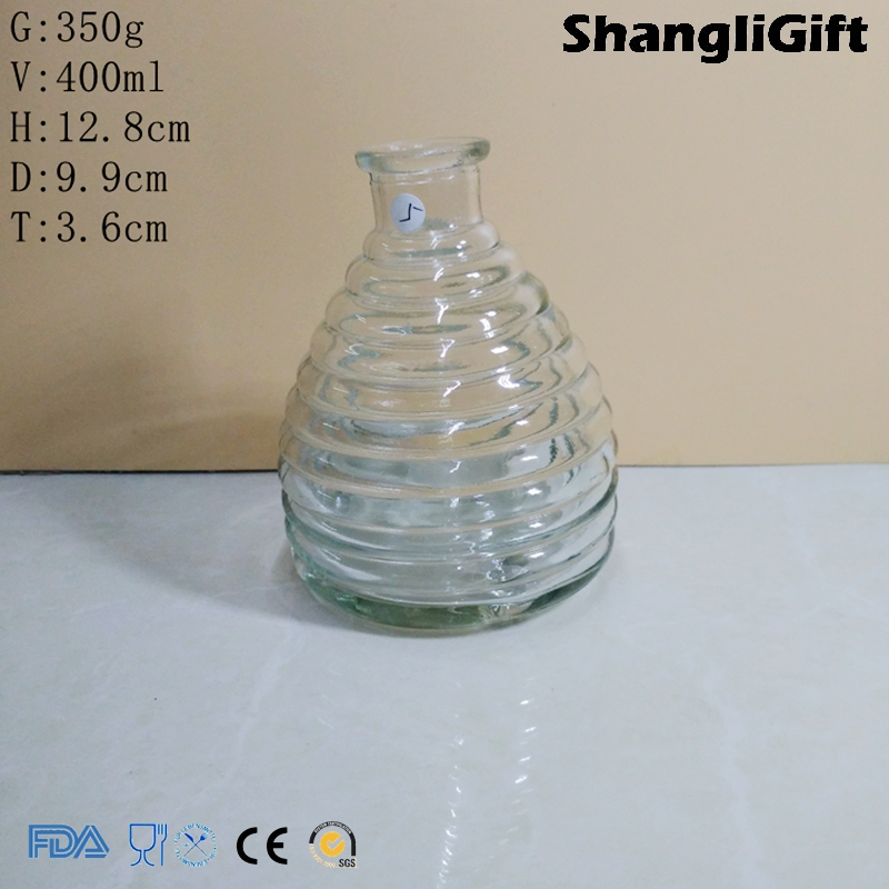 Glass Fly Trap 400ml Fly Catcher Round Bottle