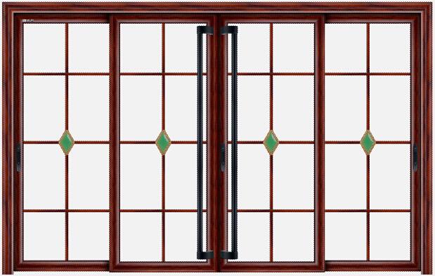 Trois panneau de porte coulissante en verre verre en for Panneau verre exterieur