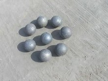 80mm 65Mn forged and rolled Steel Grinding Ball