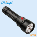 Brinyte 3800 Lumens Aluminum Famous Brand Led Flashlight 2*32650 Rechargeable Led Strong Light Flashlight
