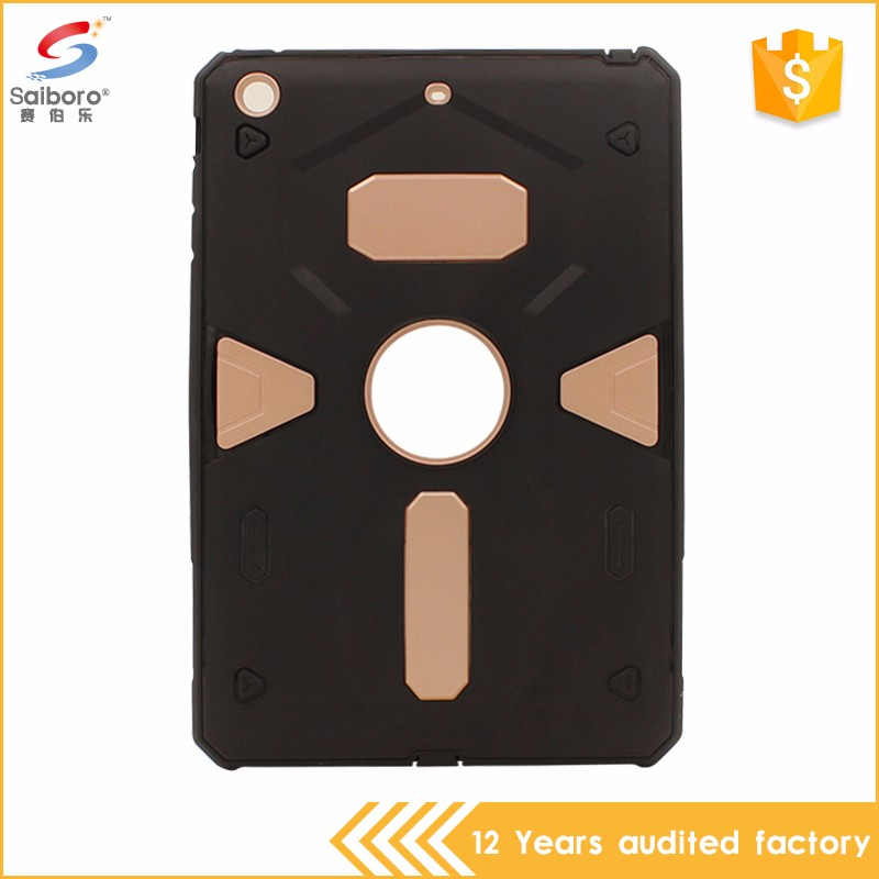 Fast delivery 2 in 1 tpu pc hybrid phone case for ipad mini 2