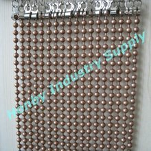 sparkling 8mm antique copper ball chain hanging curtain