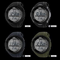 outdoor sports watches wrist watch for man good digital watches mens black watch
