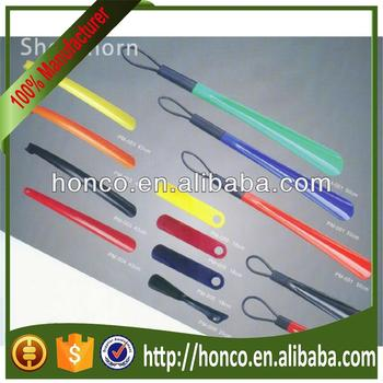 pp plastic long shoe horn with various sizes