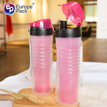 China manufacture double wall design ISBM 416ml plastic drinking water bottle