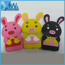 rabbit silicone case for blackberry