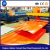 Automatic Trapezoidal Step Roofing Tile Roll Forming Machine