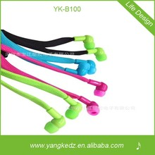 Colorful professional shoelace disposable earphone covers