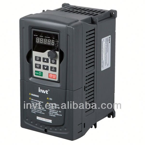 INVT MPPT frequency converter 220v single phase output ac motor drive