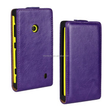 PU Leather Magnetic Flip Case Cover For Nokia Lumia 620