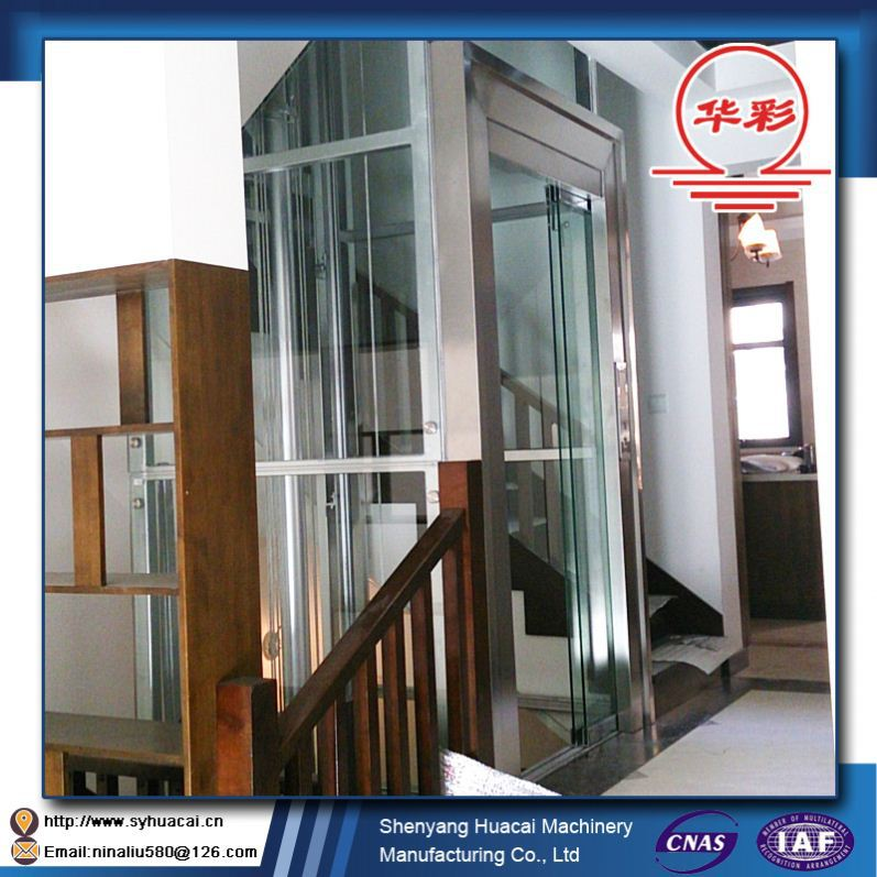 HC-320 Conventional glass super nice hyundai elevator parts