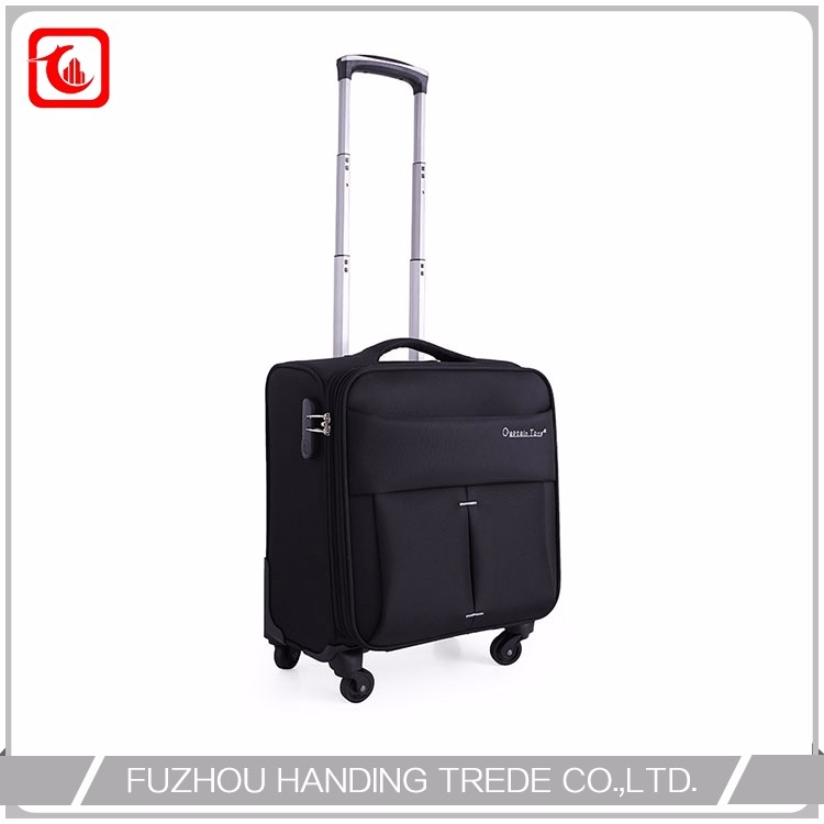 Custom Taptop Nylon Time Travel Trolley Bag In Guangzhou