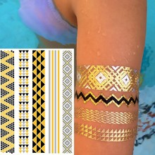 newest design temporary tattoo sticker/body face tattoo/circle tattoo