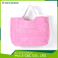 Factory direct sales all kinds of plain tote bags , cheap folding beach bag