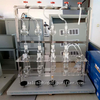 Easy operating oil sulfur content testing kit