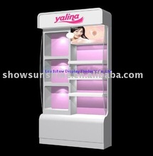 077 Cosmetic display stand shoe store display