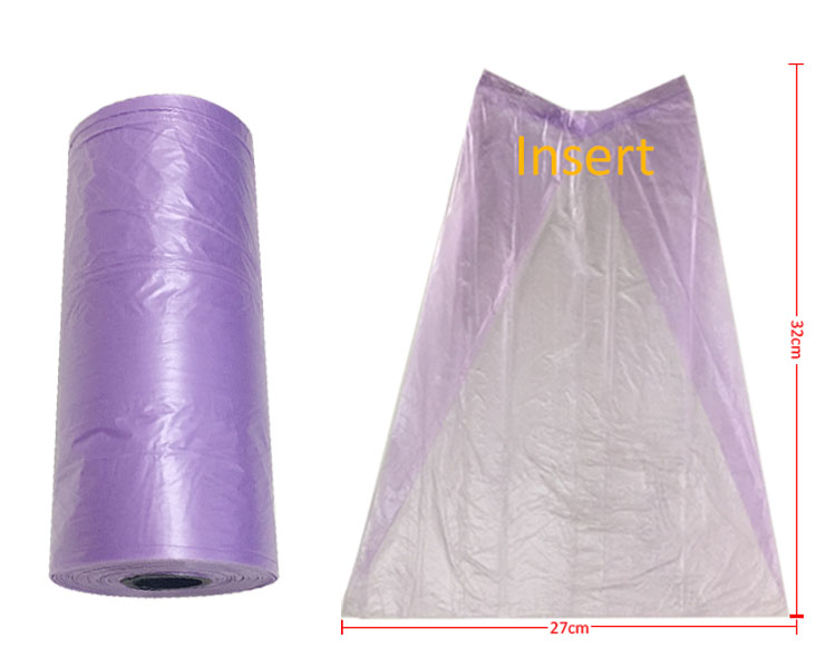 Pet supply priting siberian husky garbage bag for dog poop