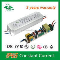 waterproof IP65 constant current 900ma 30w flicker led driver with high PFC