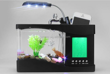 Promotion Innovative Unique Home Decoration Mini USB Aquarium Fish Tank