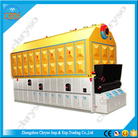 Factory prices wood pellet biomass pellet burner steam boiler