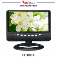 7inch portable digital tv radio 9inch portable battery pack for tv portable dvd tv vcd mp3 cd player