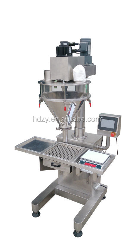 Shanghai food packing machine /Semi automatic rice flour filling machine