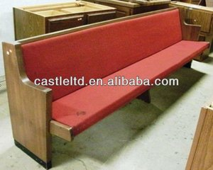 OAK wooden Church Pew