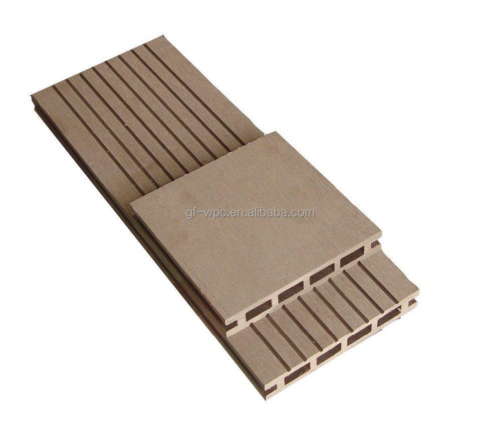 2015 WPC Plastic Composite Panel Swimming Pool Outdoor Floorings Tiles WPC Decking