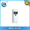 OK-333A auto perfume dispenser with LCD screen for toilet