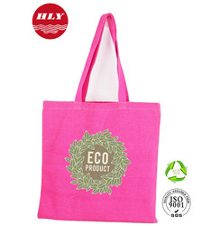 Wholesale Promotional Custom Colored 12OZ Tote Canvas Trendy Bags