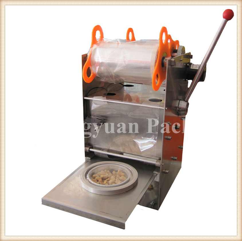 juice cup sealing machine