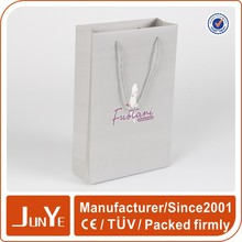embossing logo gift small paper bags for wedding