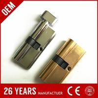 China made oxidize aluminium brass polish micro lock with chrome