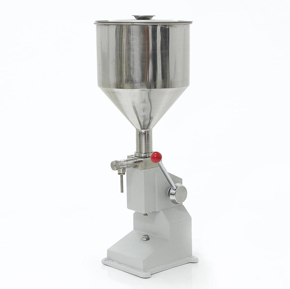 Liquid <strong>Filling</strong> <strong>Machine</strong> Manual 5 ml to 50 ml Liquid Bottle Filler Food Grade Drink Water Olive Oil Essential oil <strong>A03</strong> No Electric