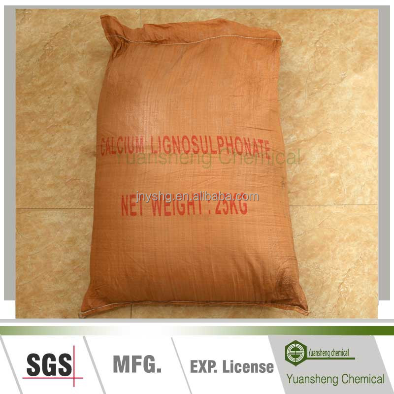 calcium lignosulphonate/lignosulfonate calcium lignin sulfonate used as concrete admixture for cement mortar