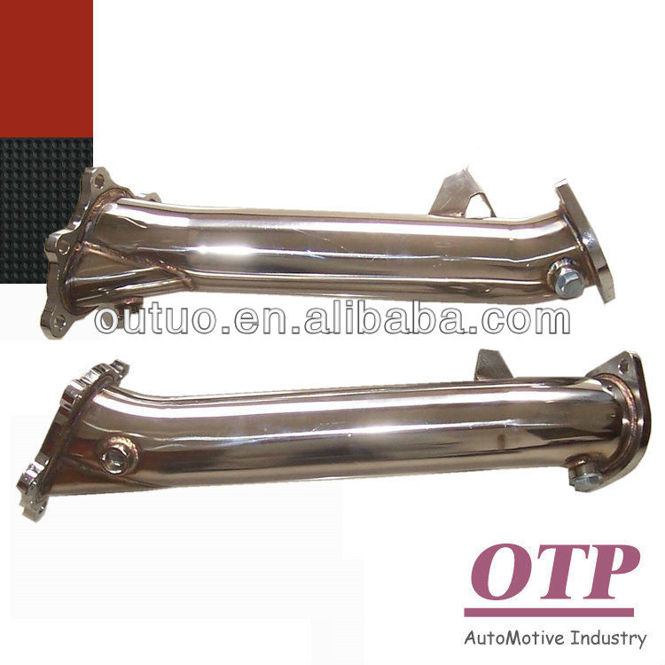 exhaust downpipe for Nissan GTR R35