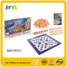 learning mathable game for kids scrabble board game plastic scrabble tiles