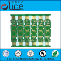 PCB Double side Green ENIG 94V-0 rohs pcb manufacture for usb to pci converter