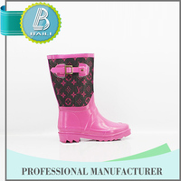 Hot selling Home-use Colorful woman sex horse riding rain boots wellies wellingt