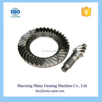 Steel Fabrication Services Reduction Spiral Bevel Gear for Toyota
