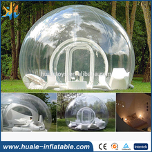 Outdoor Activity Igloo Balloon Camping Inflatable Clear Tent