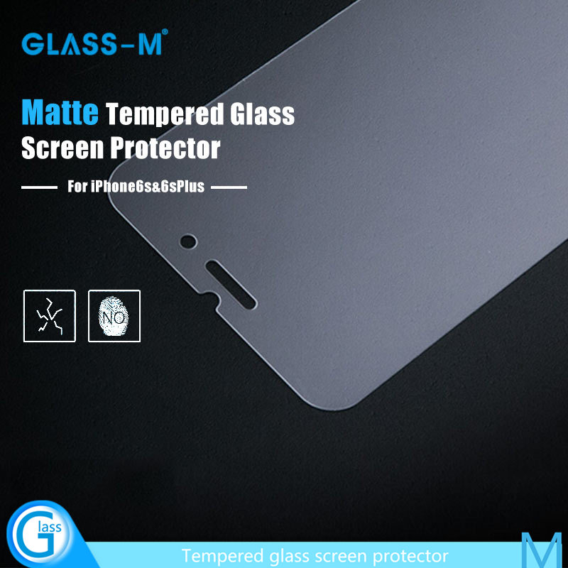 for iPhone 6 Anti Glare Toughened Glass Invisible Shield
