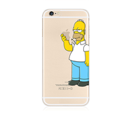 Hot selling 3D printing Simpson TPU PHONE CASE for iphone 6/6S 4.7 inch! High Impact plastic case for Iphone 6/6S