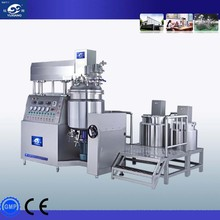 Industrial Cosmetic Blender Automatic Vacuum Emulsifying Mixer