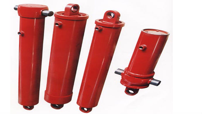 4 stages hydraulic telescopic hoist for tipper/dump truck