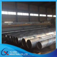 SSAW steel pipe with material x56 x70,large diameter sprial welded pipe used in oil and gas industry